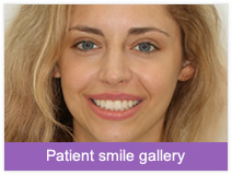 View our patient smile gallery